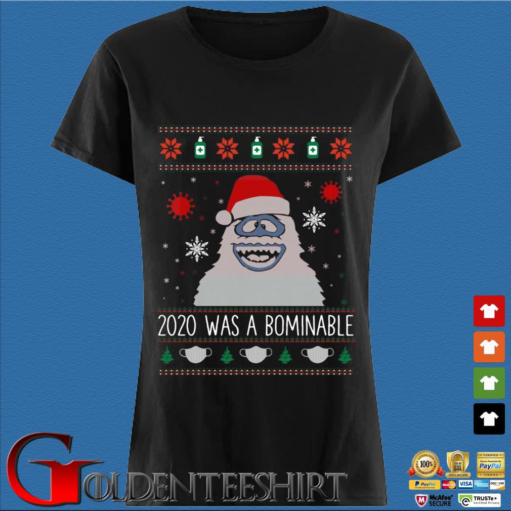 2020 was Santa Abominable Ugly Christmas sweater Den Ladies