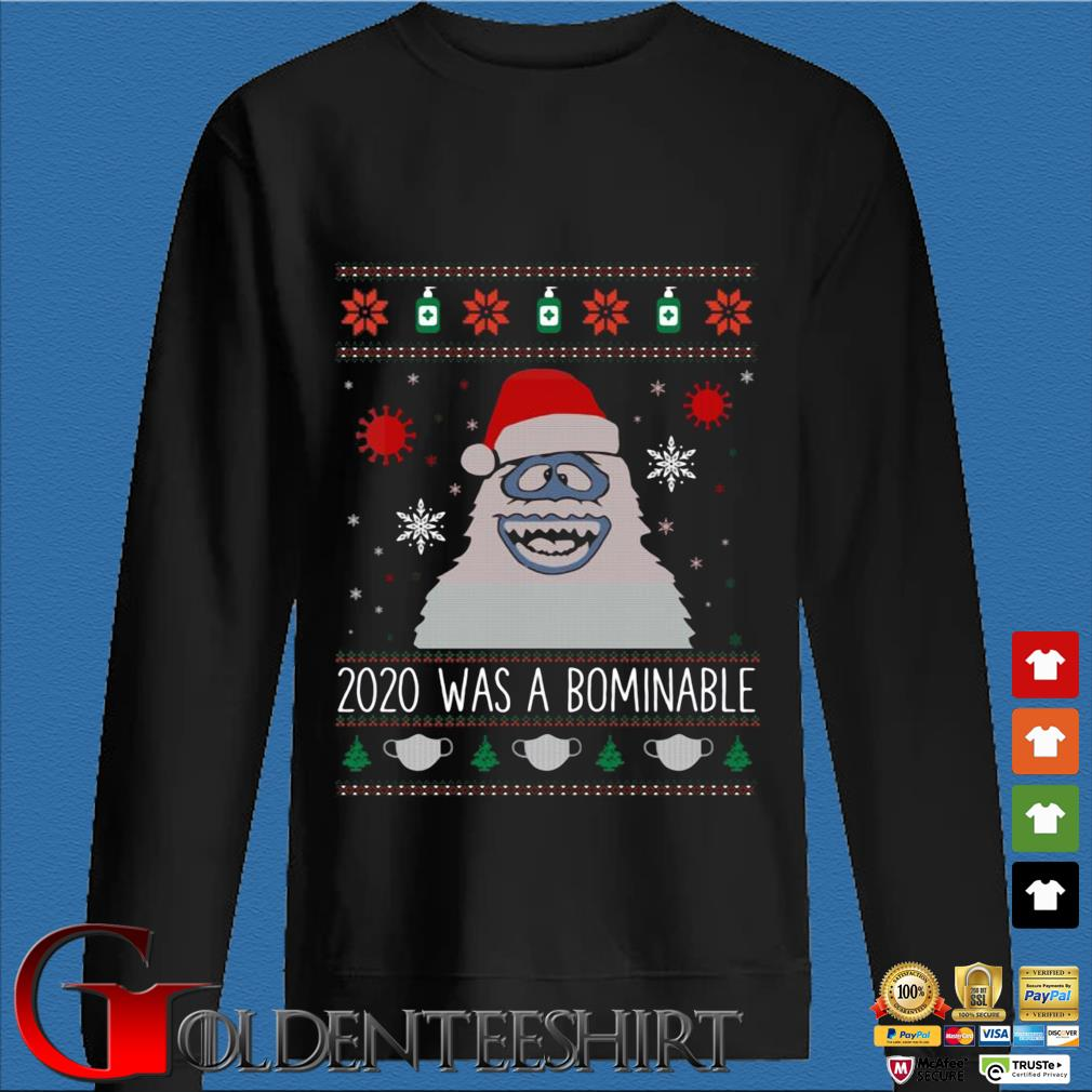 2020 was Santa Abominable Ugly Christmas sweater
