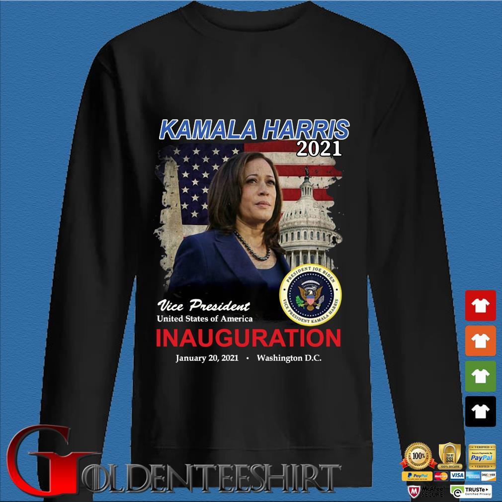 2021 inauguration day Kamala Harris commemorative souvenir shirt