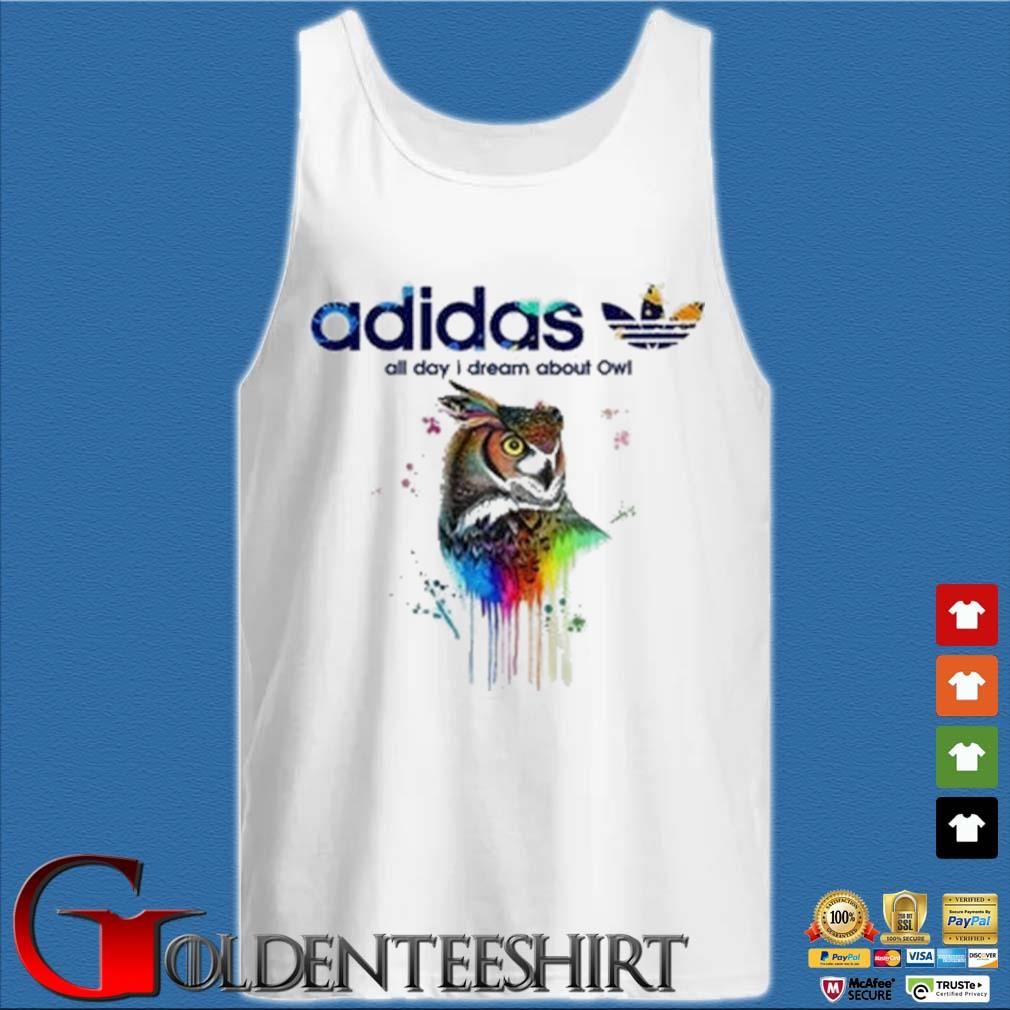Adidas all day I dream about Owl color s Tank top trắng