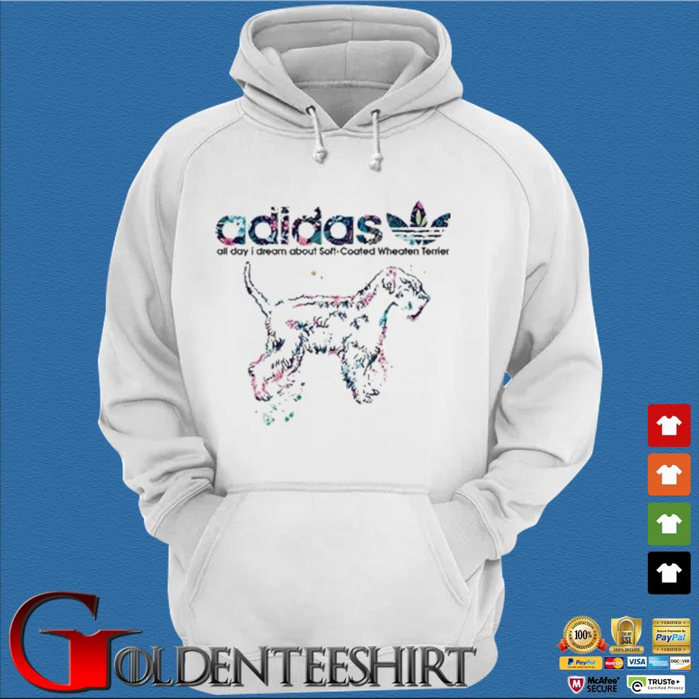 Adidas all day I dream about soft coated wheaten Terrier s Trang Hoodie