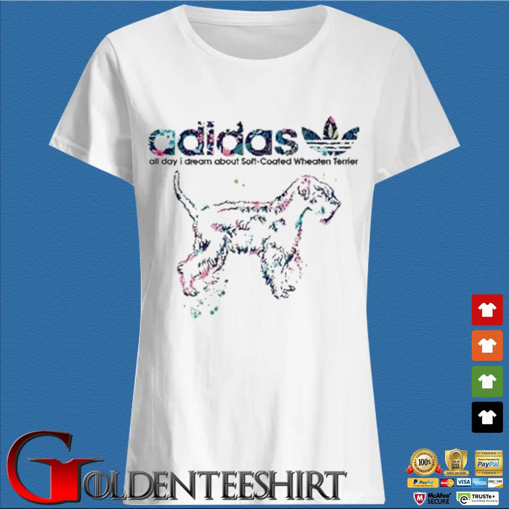 Adidas all day I dream about soft coated wheaten Terrier s Trang Ladies