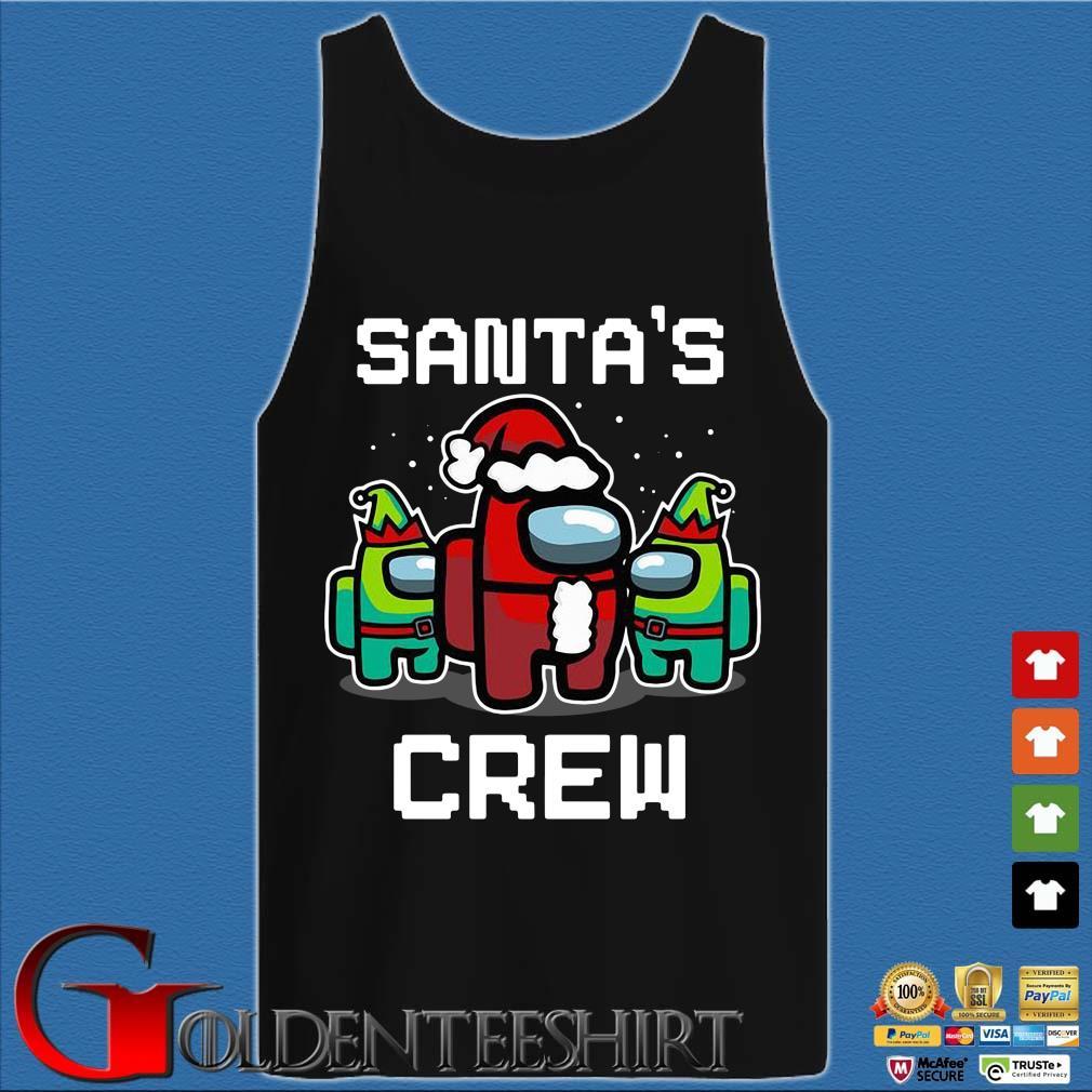 Among Us Santa's Crew Christmas Sweater Tank top den