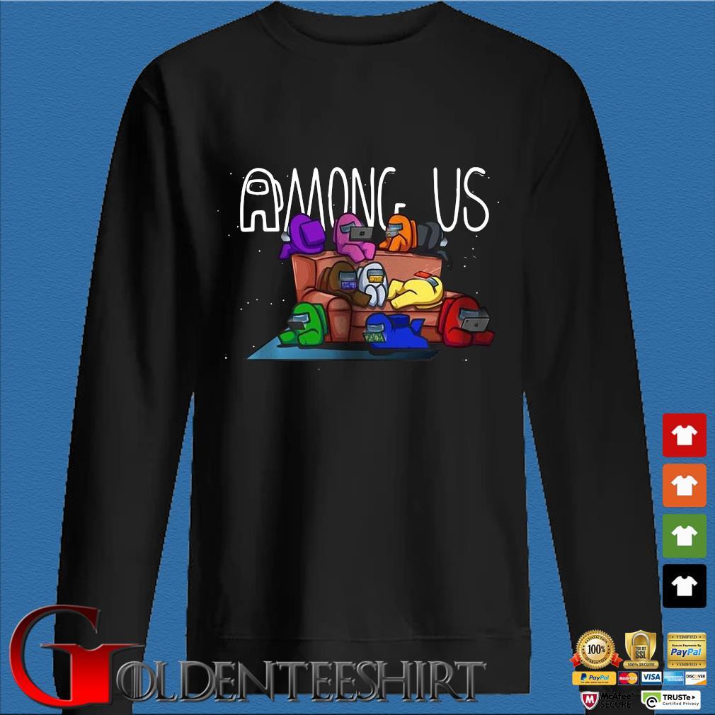 Among Us sofa gaming video game shirt
