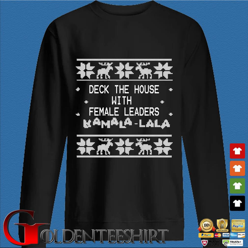 Deck the house with female leaders Kamala-lala Ugly Christmas sweater