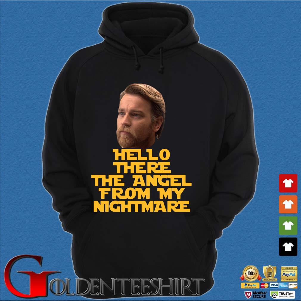 Ewan Mcgregor hello there the angel from my nightmare s Hoodie đen