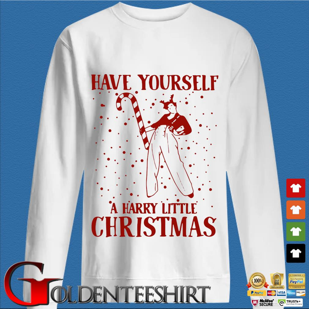 Have yourself a harry little Christmas sweater