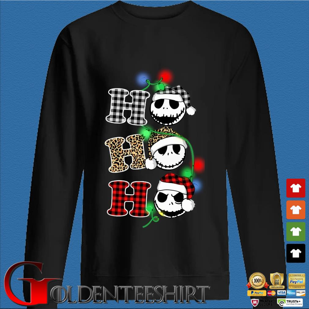 Jack Skellington ho ho ho Christmas sweater