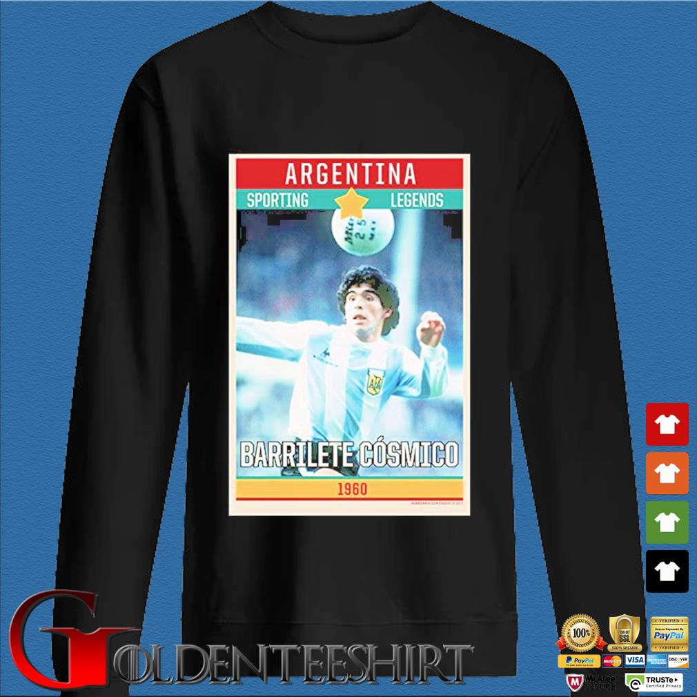 Legends Argentina Diego Maradona World Cup 1960 Shirt