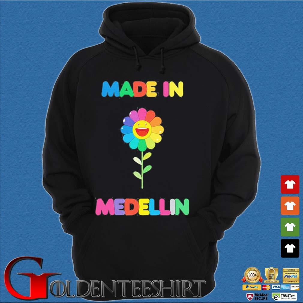 LGBT colour lovely made in medellin s Hoodie đen