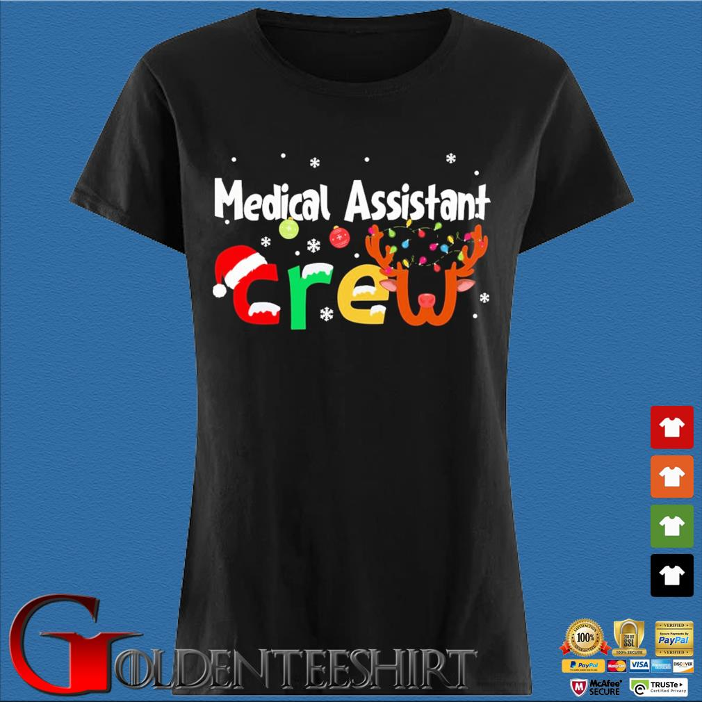 Medical Assistant Crew Christmas Sweater Den Ladies