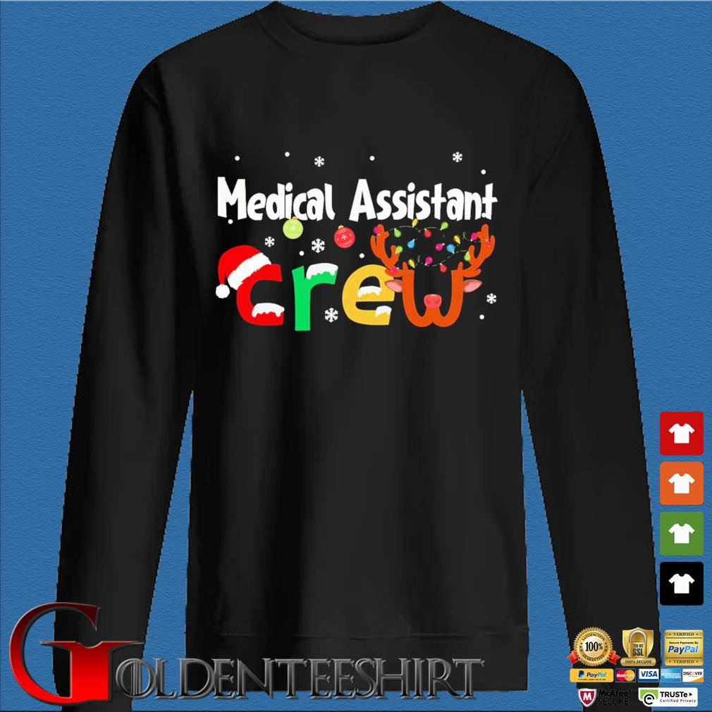 Medical Assistant Crew Christmas Sweater