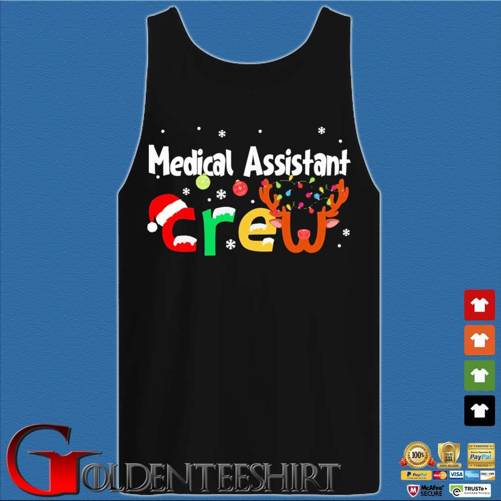 Medical Assistant Crew Christmas Sweater Tank top den
