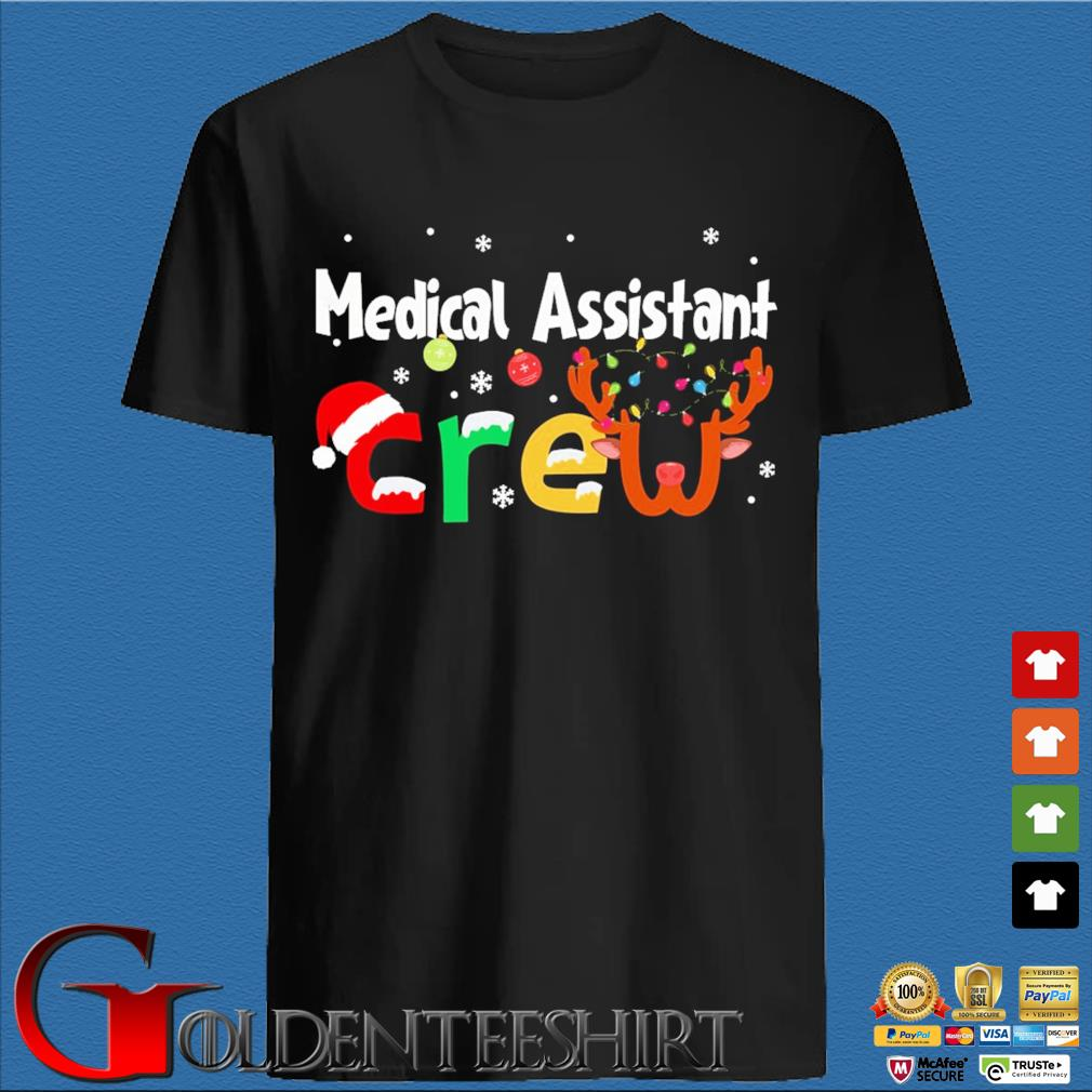 Medical Assistant Crew Christmas Sweater den Shirt