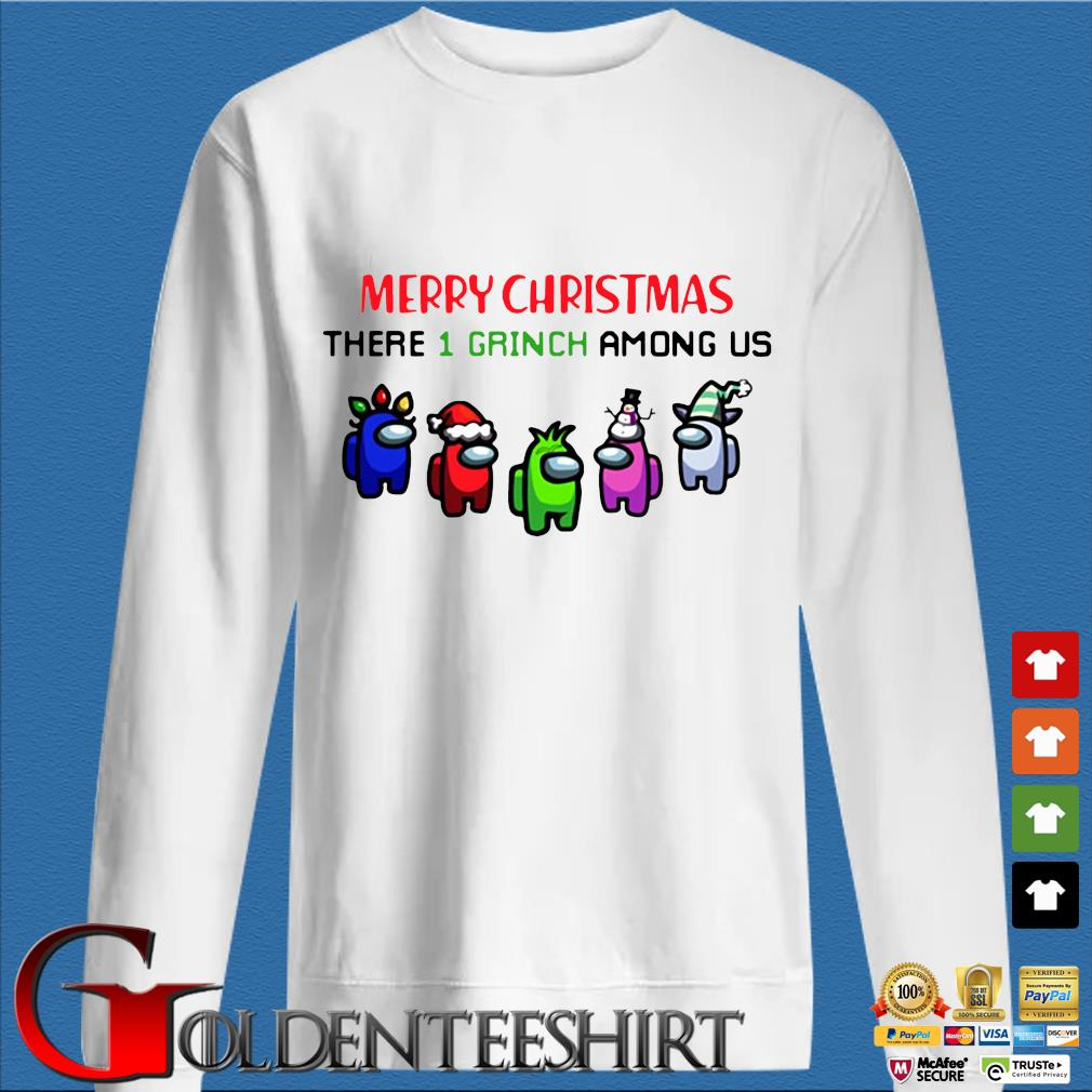 Merry Christmas There 1 Grinch Among Us Sweater