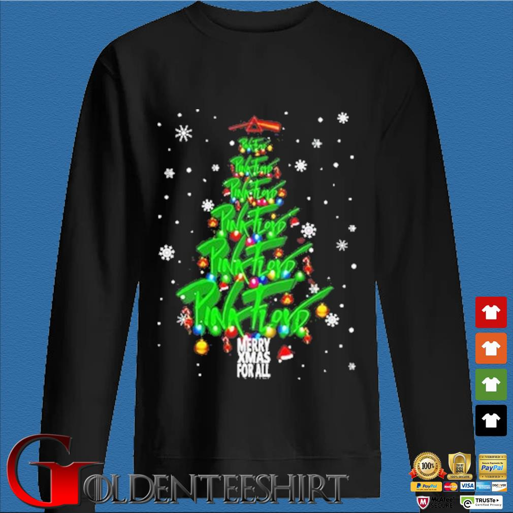 Merry Xmas for all Pink Floyd Christmas tree sweater