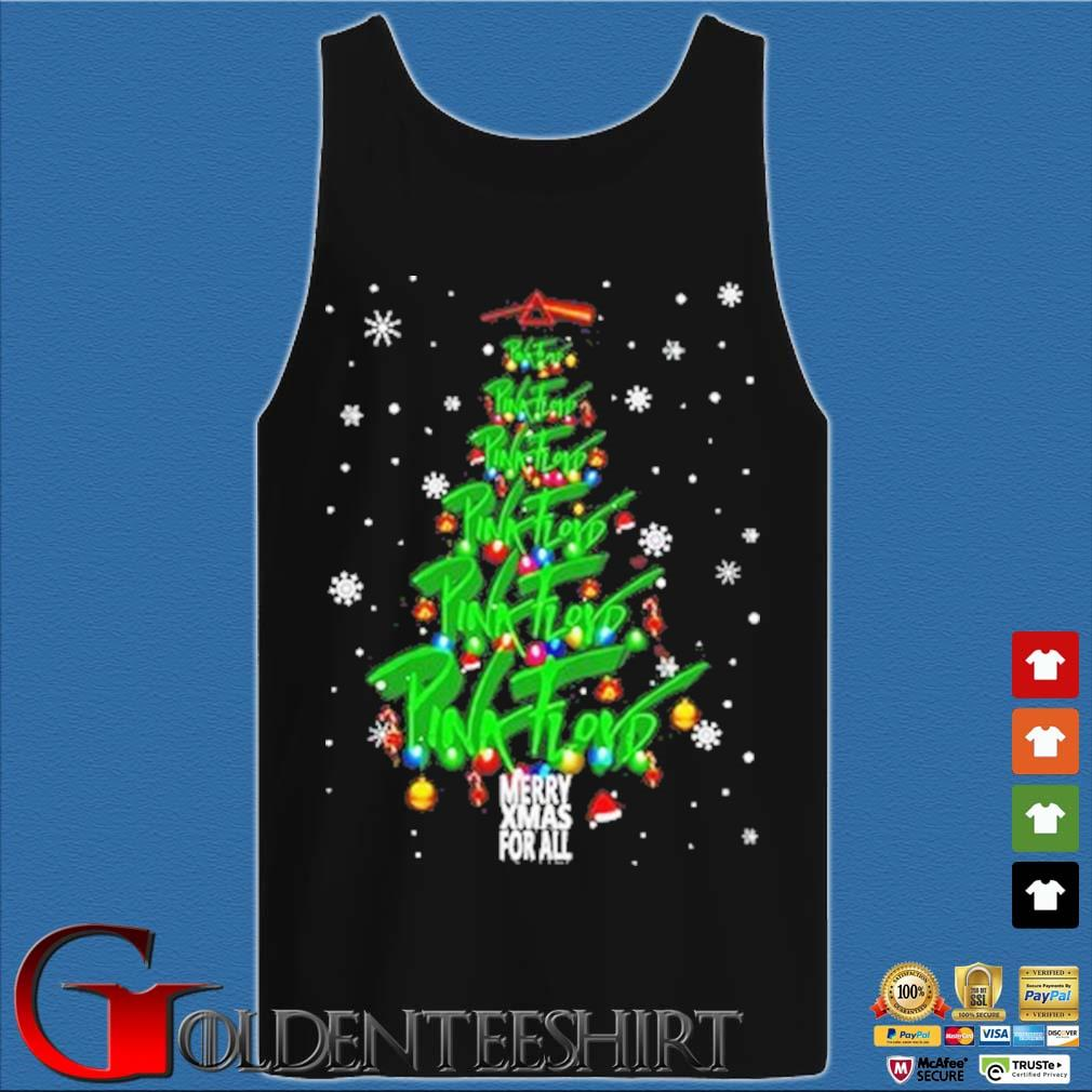 Merry Xmas for all Pink Floyd Christmas tree sweater Tank top den