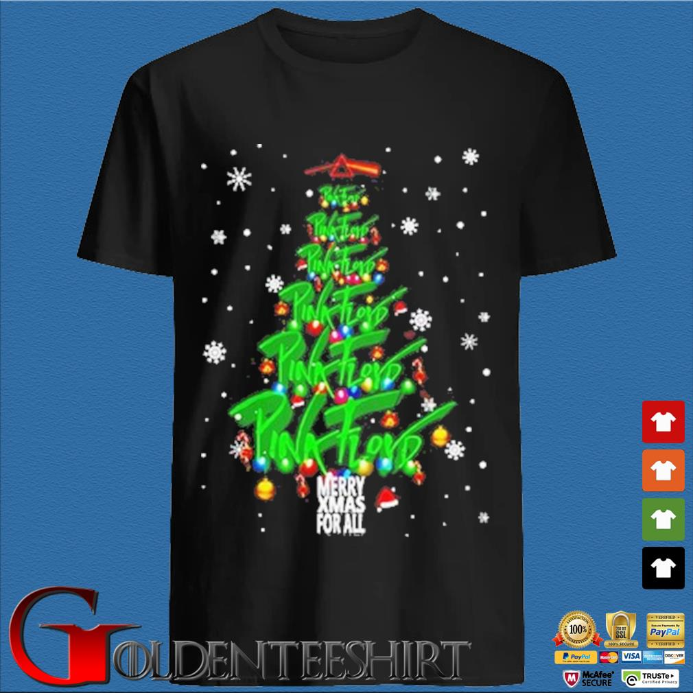 Merry Xmas for all Pink Floyd Christmas tree sweater den Shirt