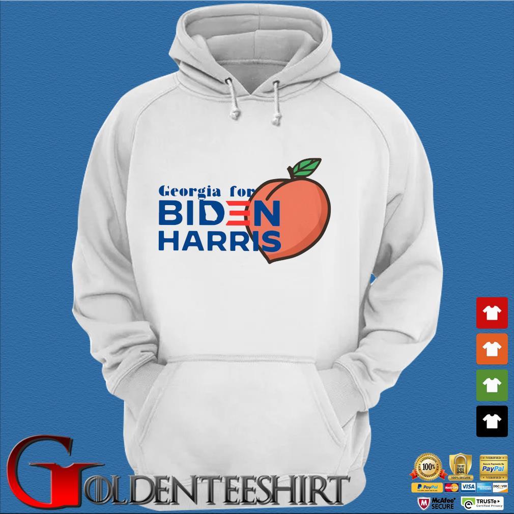Peaches Georgia for Biden Harris s Trang Hoodie