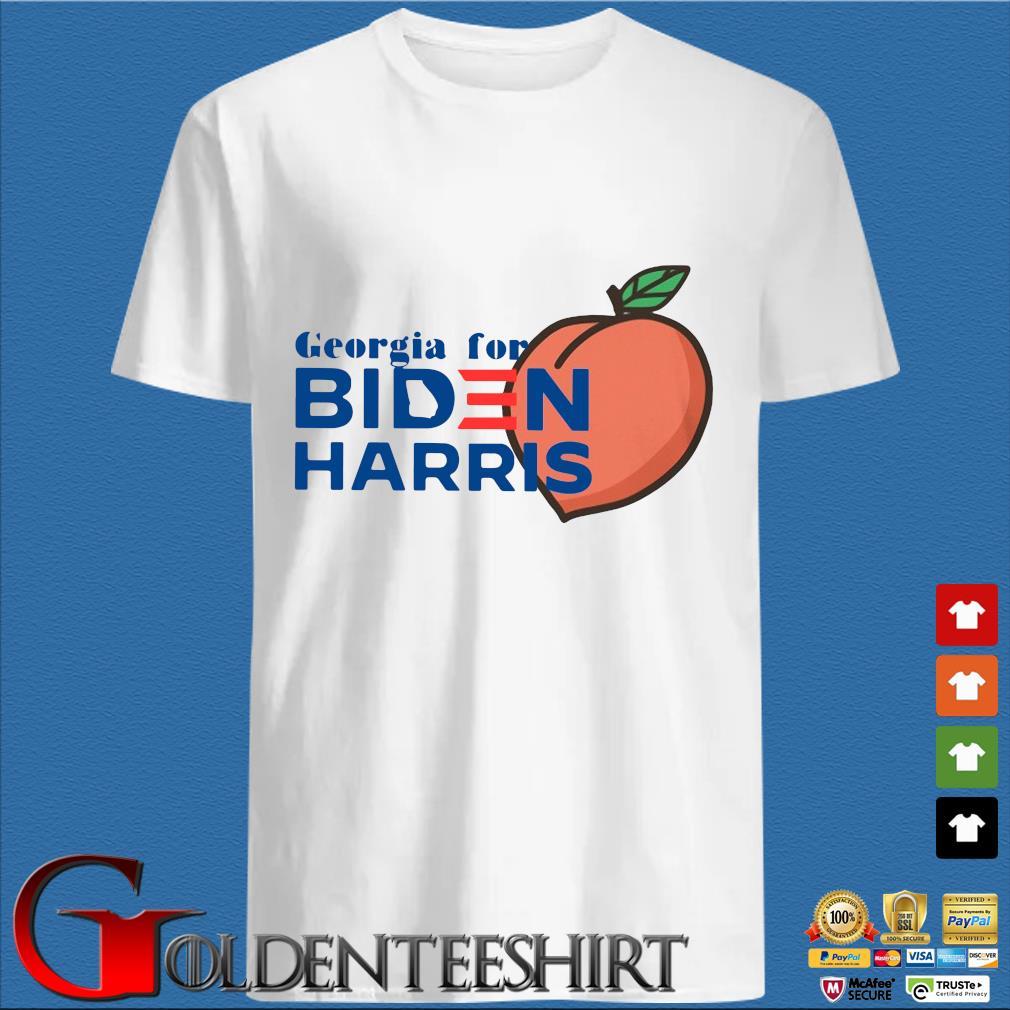 Peaches Georgia for Biden Harris s trang Shirt