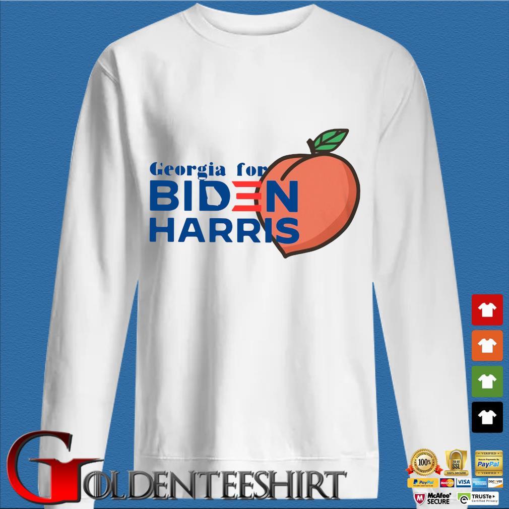 Peaches Georgia for Biden Harris shirt