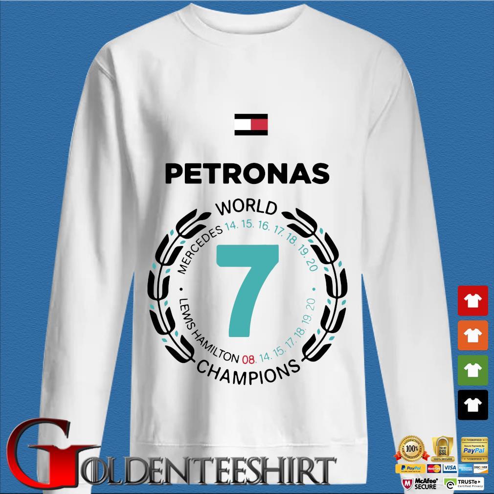 Petronas world Mercedes Lewis Hamilton Champions shirt