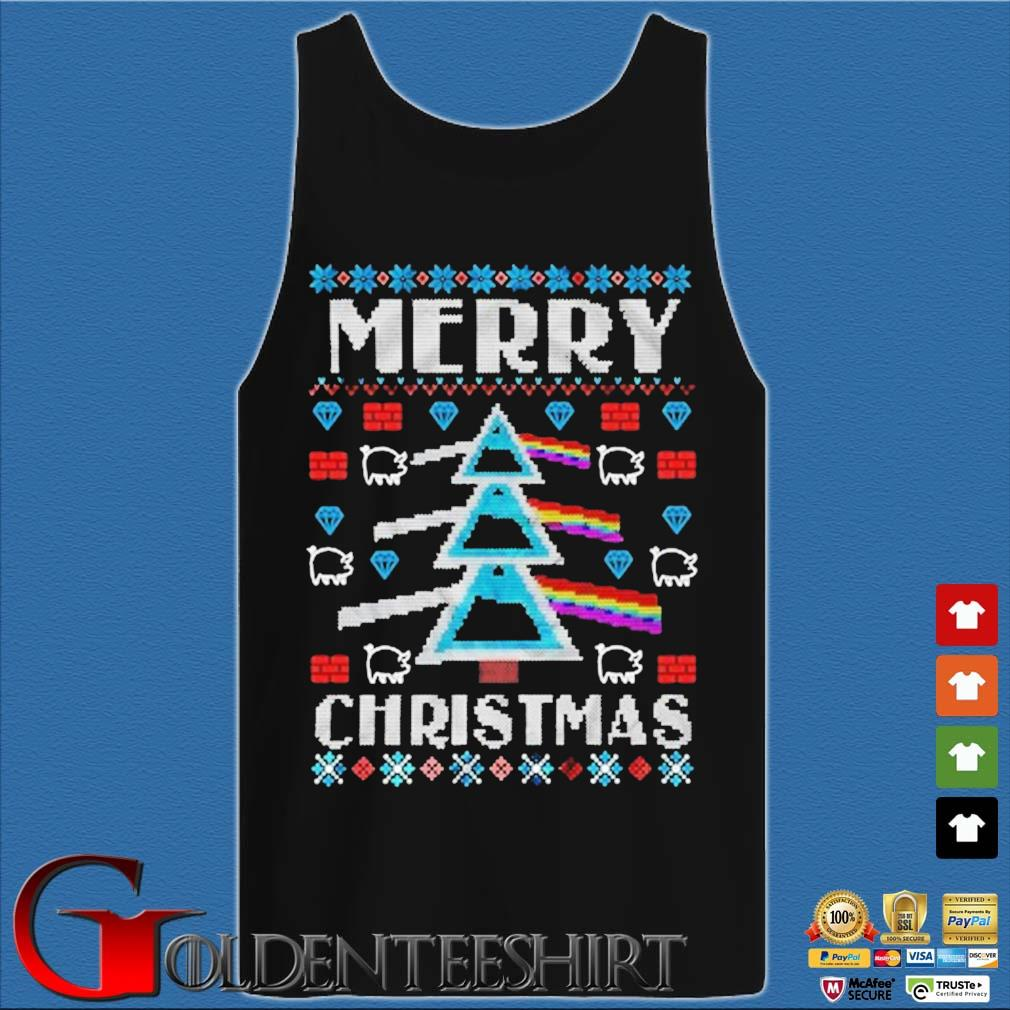 Pink Floyd Merry Christmas Ugly Christmas sweater Tank top den