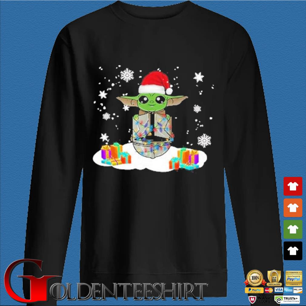 Santa Baby Yoda and The Mandalorian Christmas sweater