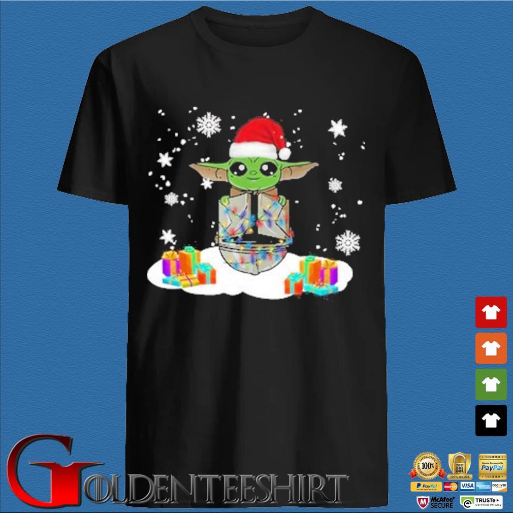 Santa Baby Yoda and The Mandalorian Christmas sweater den Shirt