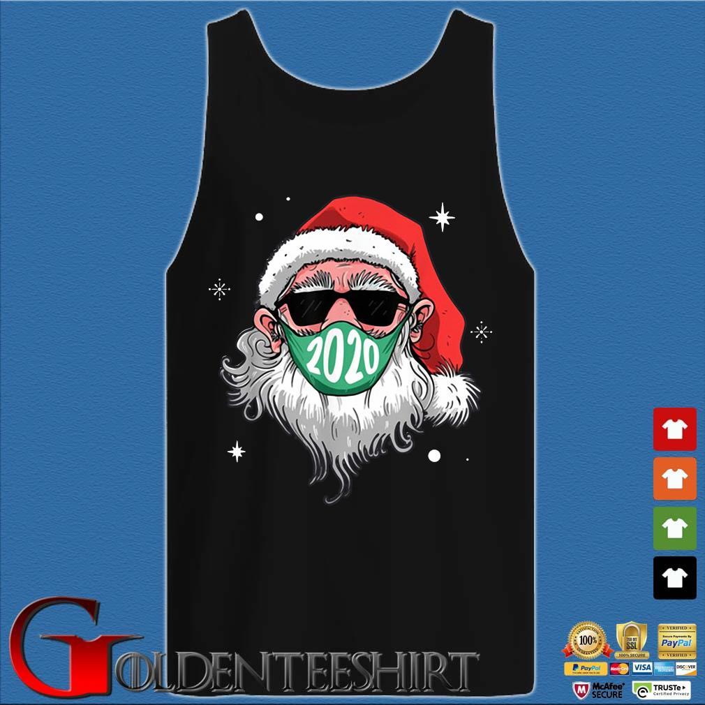 Santa Claus face mask 2020 Christmas sweater Tank top den