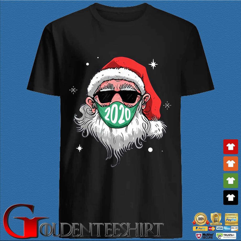 Santa Claus face mask 2020 Christmas sweater den Shirt