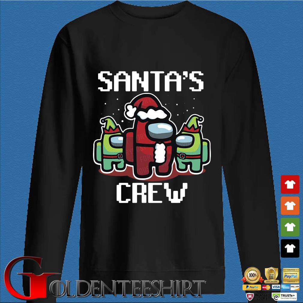 Santa's crew Among Us Christmas sweater