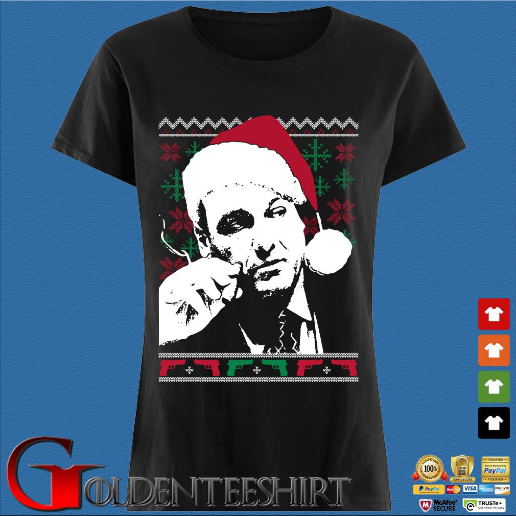 Santa Tony Soprano Ugly Christmas sweater Den Ladies