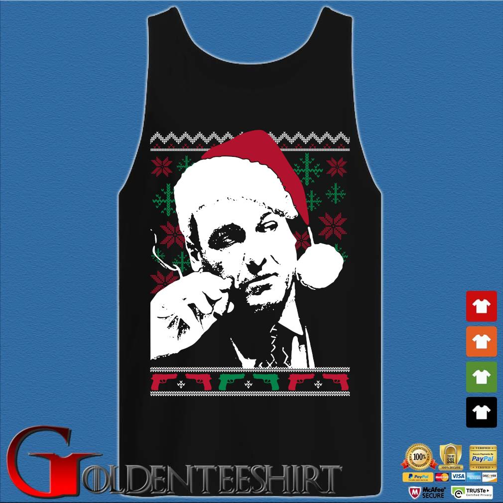 Santa Tony Soprano Ugly Christmas sweater Tank top den