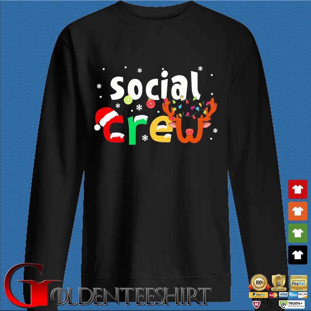 Social Crew Christmas Sweater