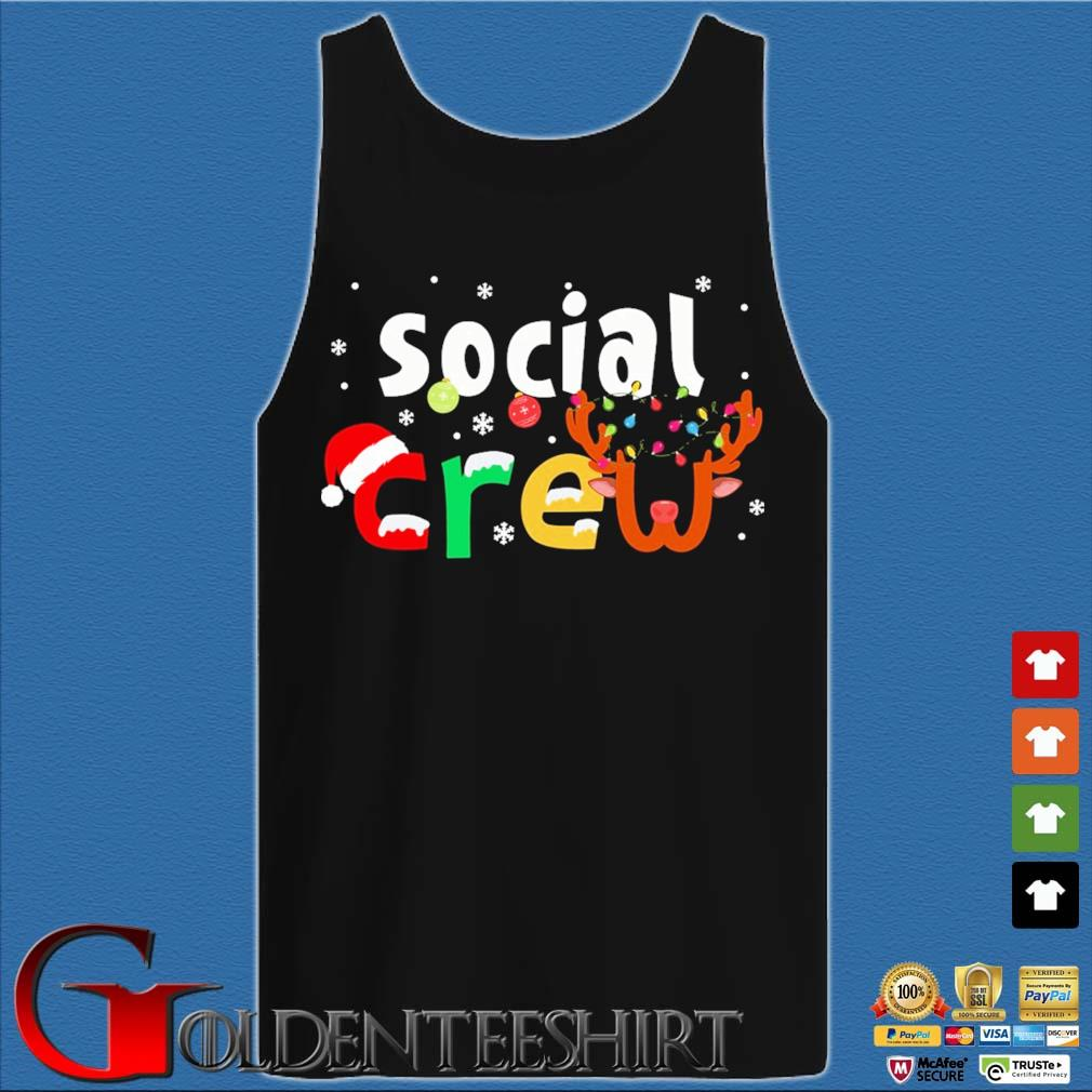 Social Crew Christmas Sweater Tank top den