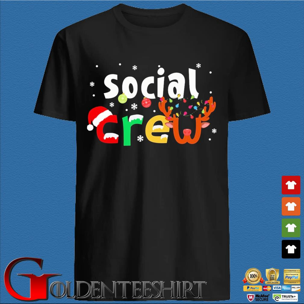 Social Crew Christmas Sweater den Shirt