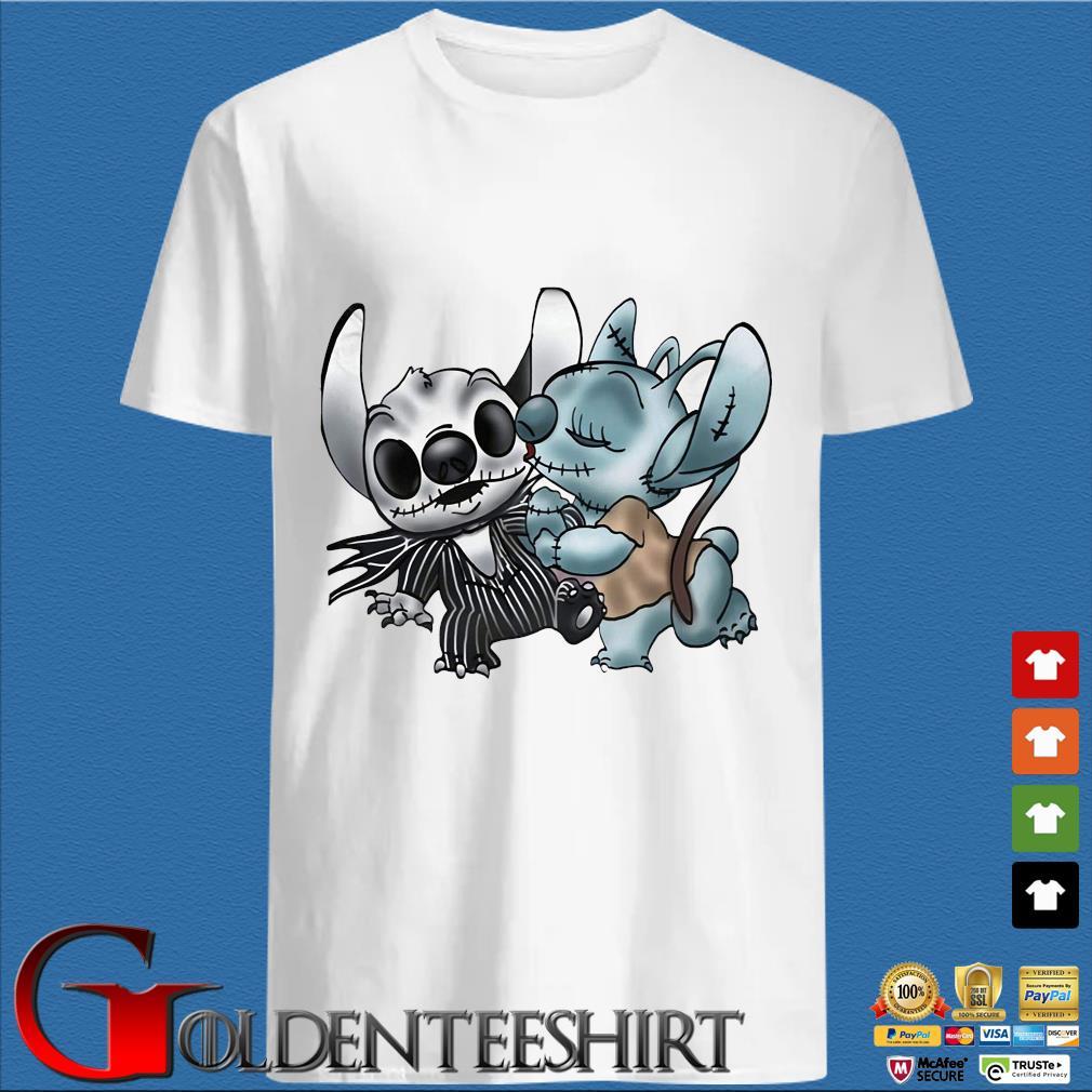 Stitch Jack Skellington and Sally s trang Shirt
