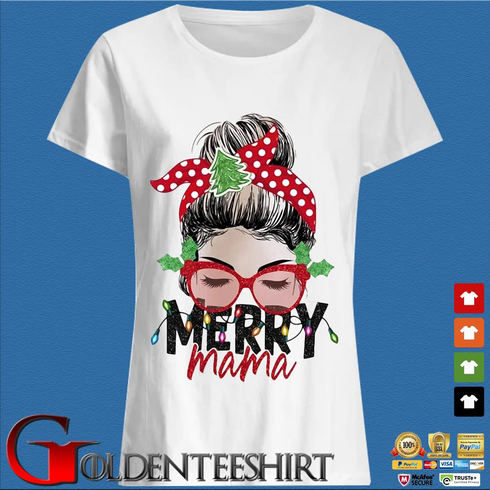 Strong Girl Merry Mama Christmas Sweater Trang Ladies