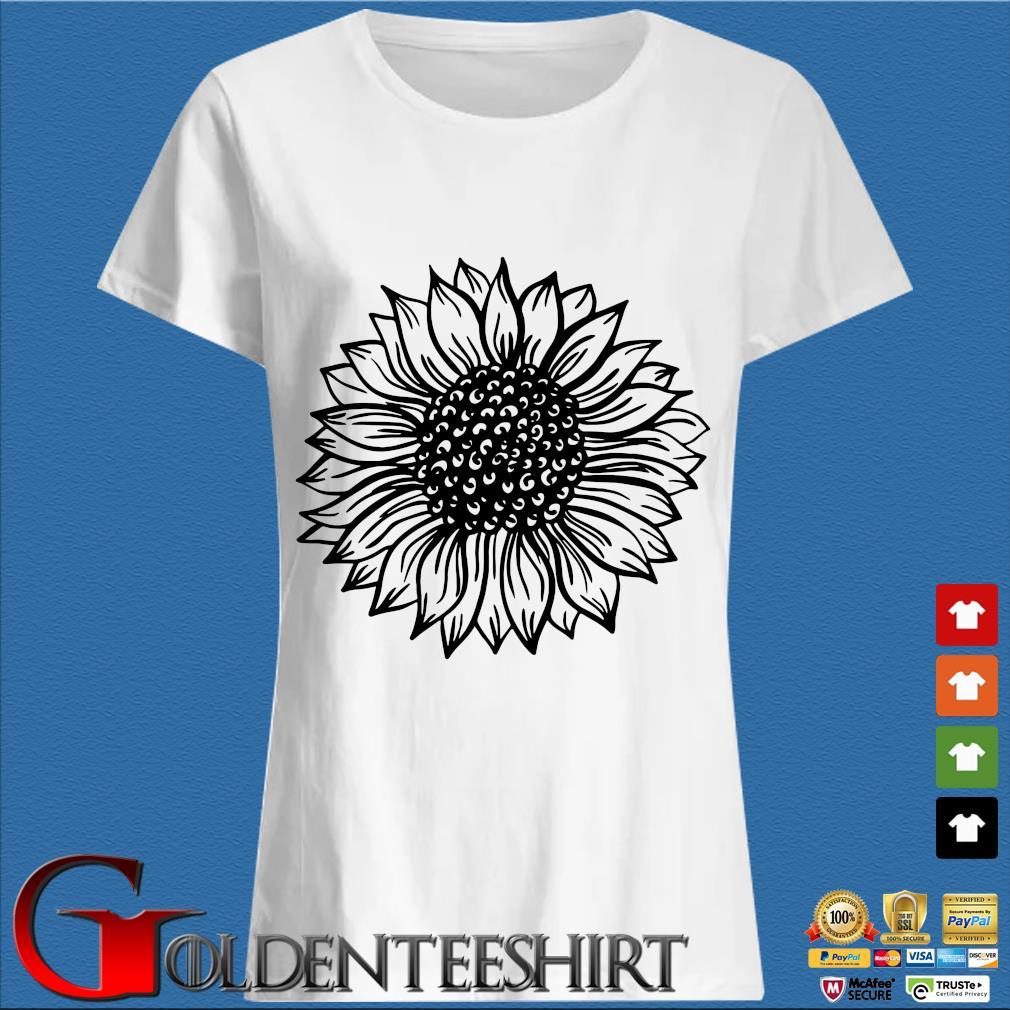 Sunflower Black And White Shirt Trang Ladies