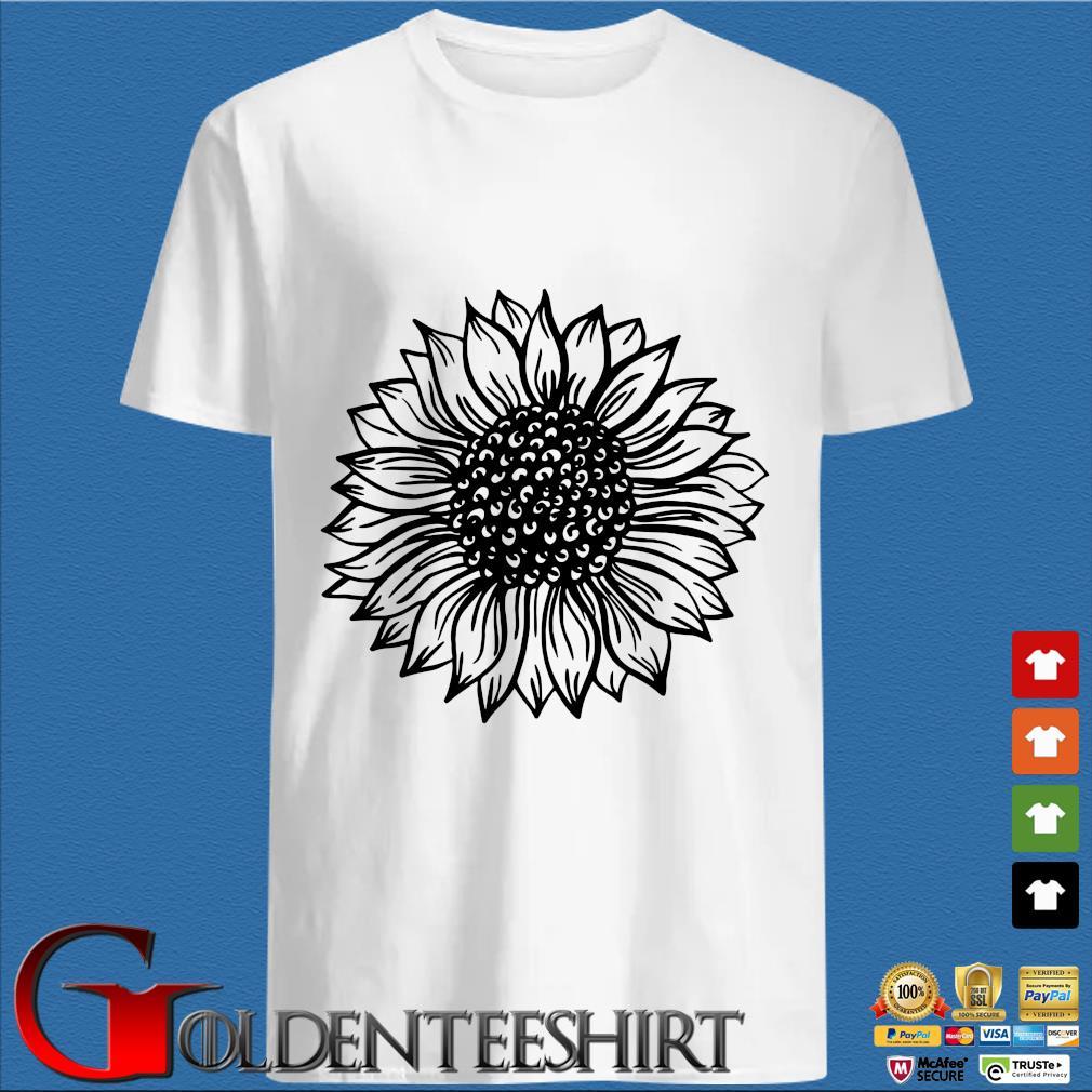 Sunflower Black And White Shirt trang Shirt