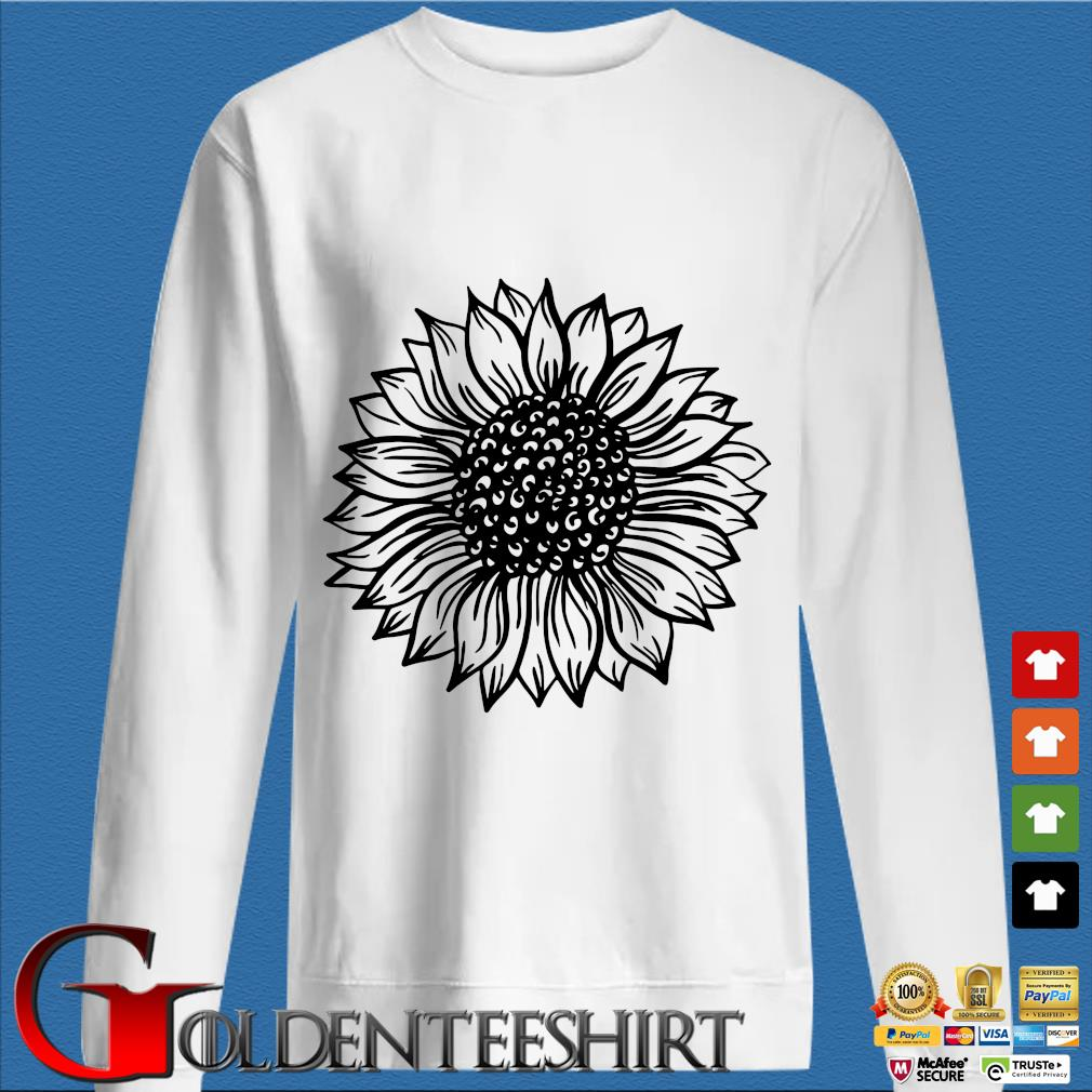 Sunflower Black And White Shirt