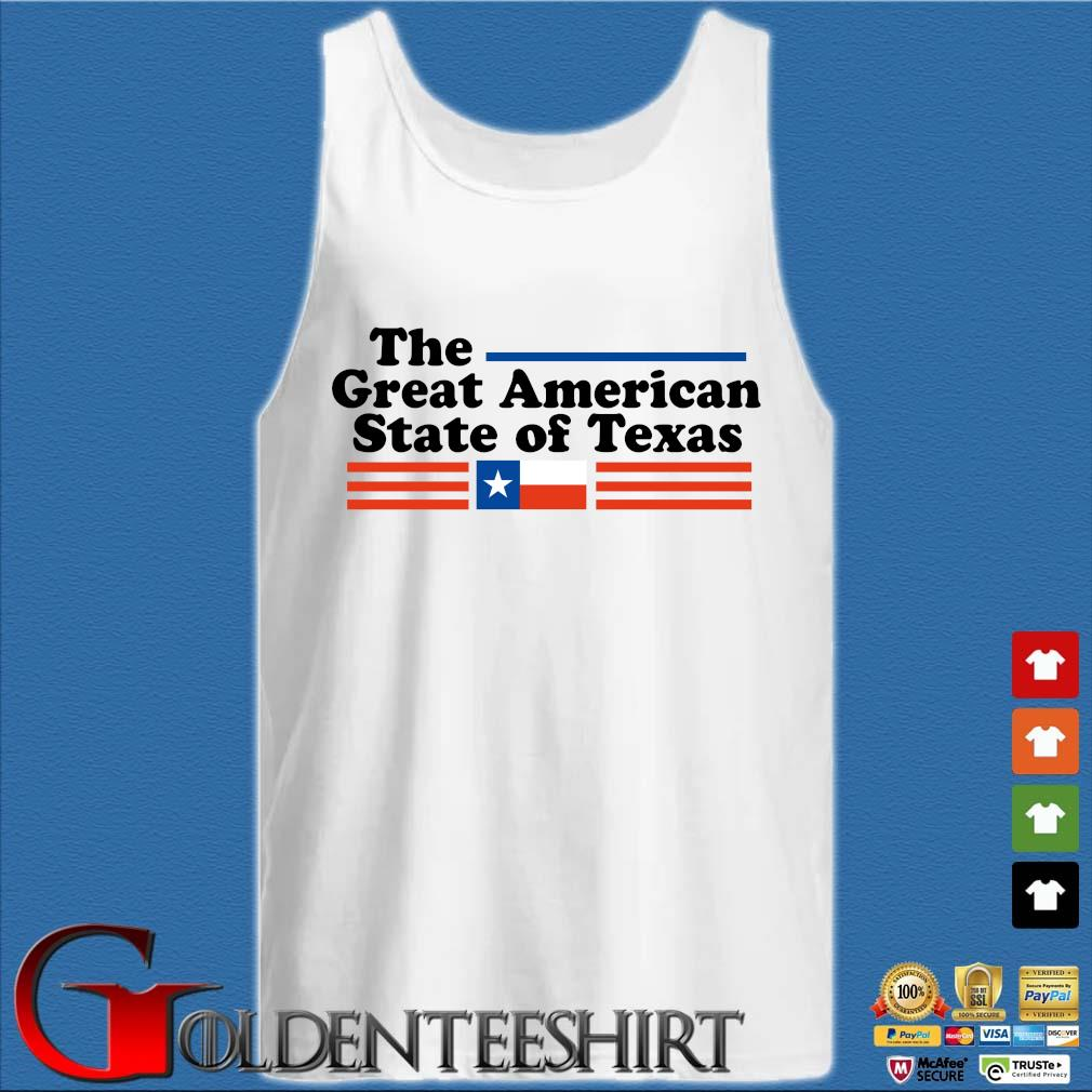 The great American state of Texas s Tank top trắng