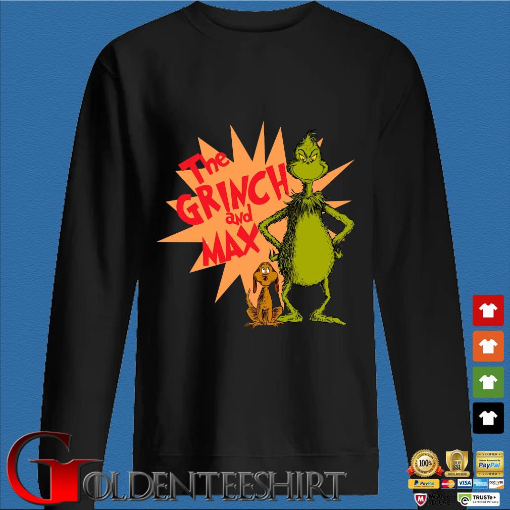 The Grinch and Max 2020 shirt