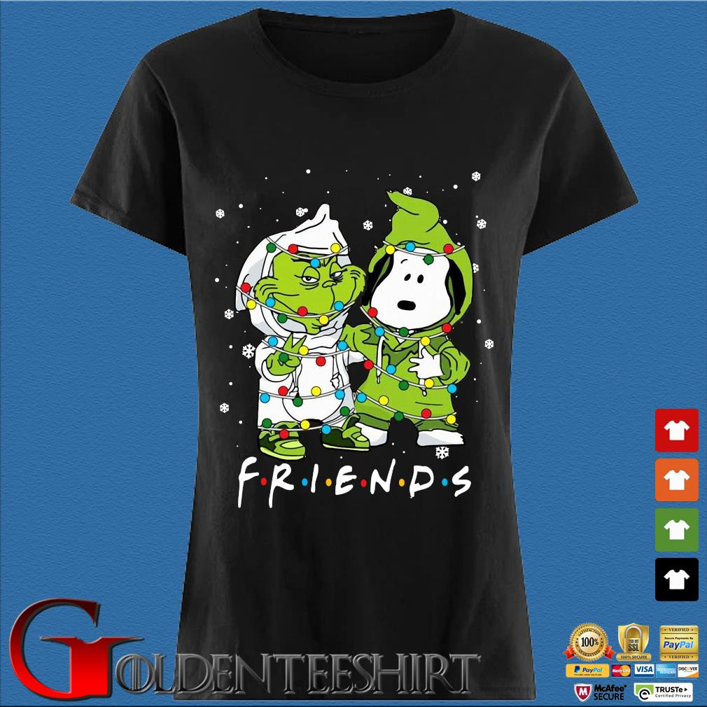 The Grinch and Snoopy friends Christmas sweater Den Ladies
