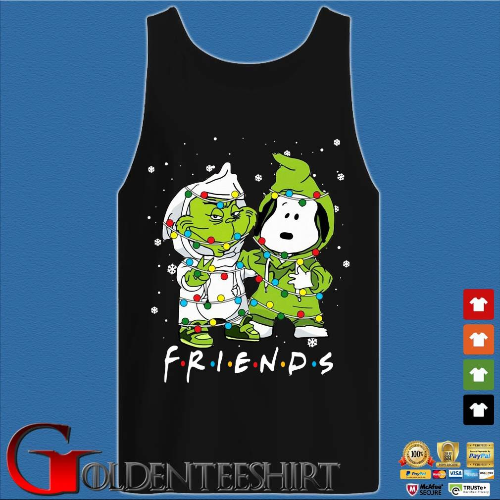 The Grinch and Snoopy friends Christmas sweater Tank top den