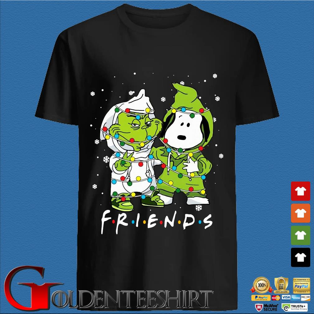 The Grinch and Snoopy friends Christmas sweater den Shirt