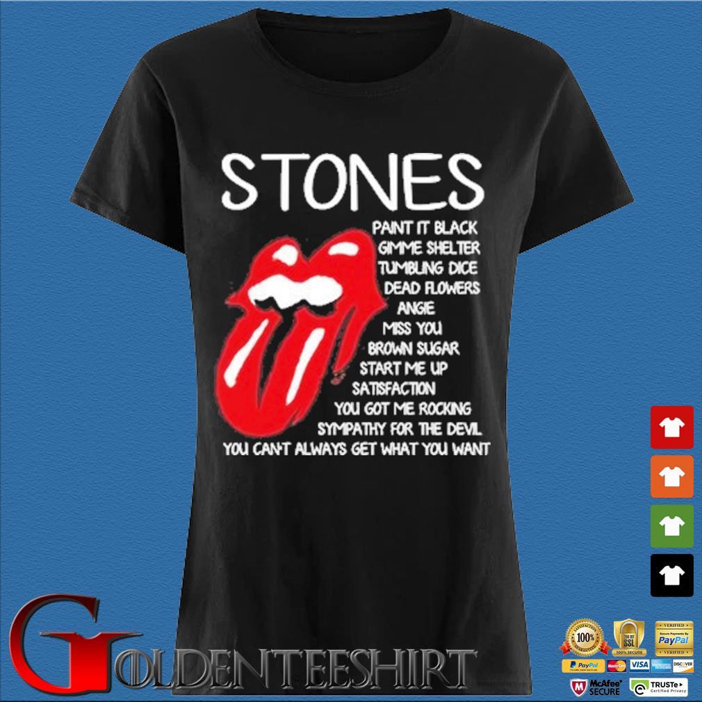 The Rolling Stones paint it black gimme shelter tumbling dice dead flowers s Den Ladies