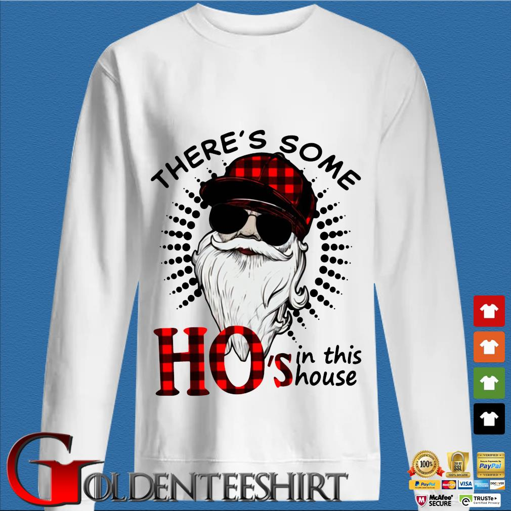There's Some Hos In This House Santa Claus Christmas Sweater