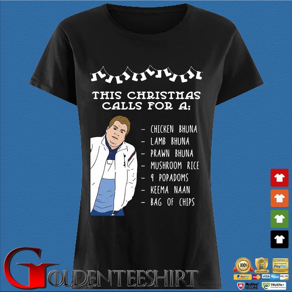 This Christmas calls for a chicken bhuna lamb bhuna prawn bhuna sweater Den Ladies